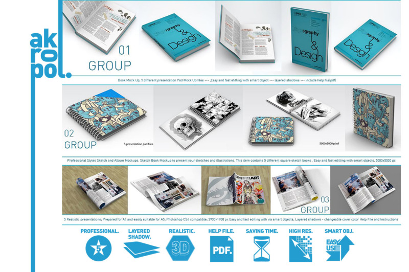 45-different-book-and-magazine-mock-ups-mega-pack