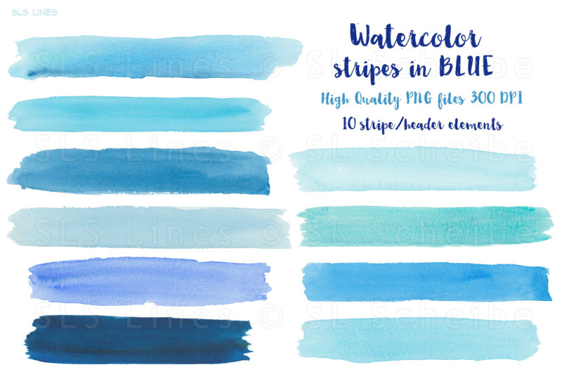 blue-watercolor-balls-and-shapes