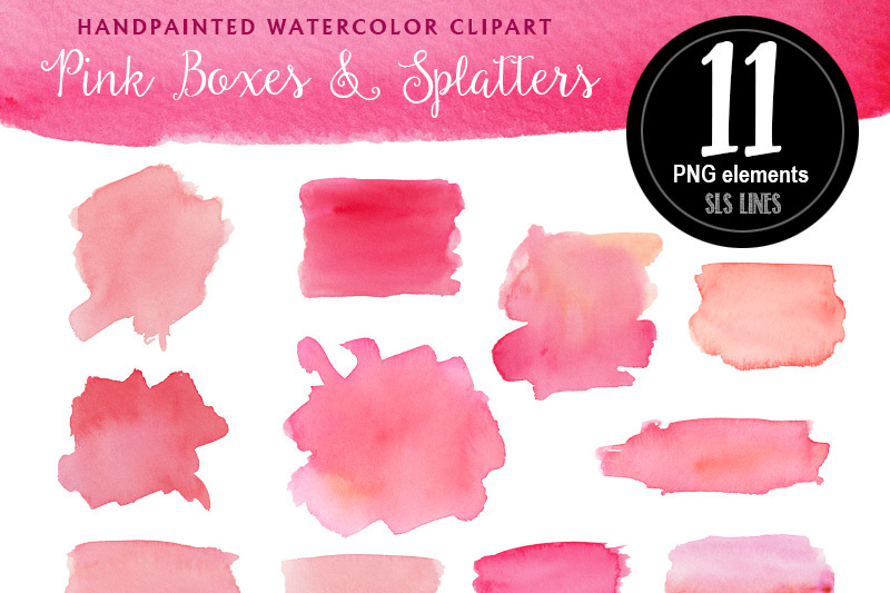 pink-watercolor-boxes-and-splatters