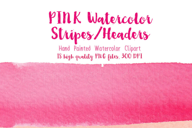 pink-watercolor-stripes-and-headers