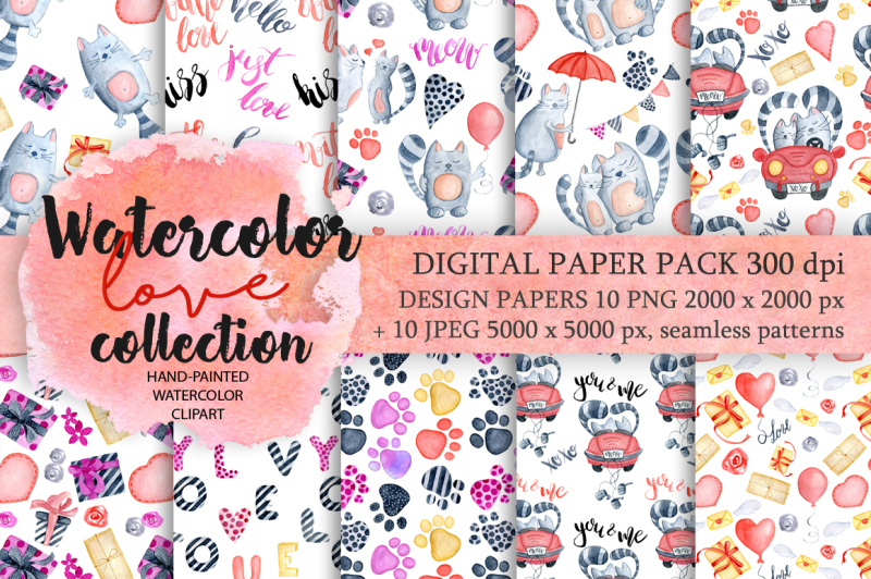 valentine-day-seamless-patterns-collection