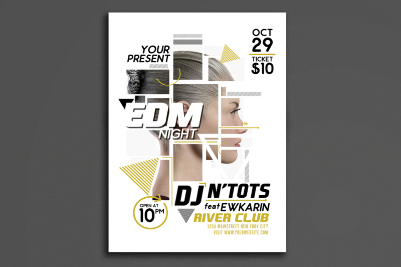 edm-night-party-flyer