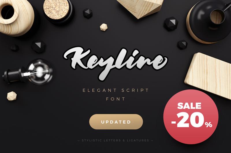keyline-script-font