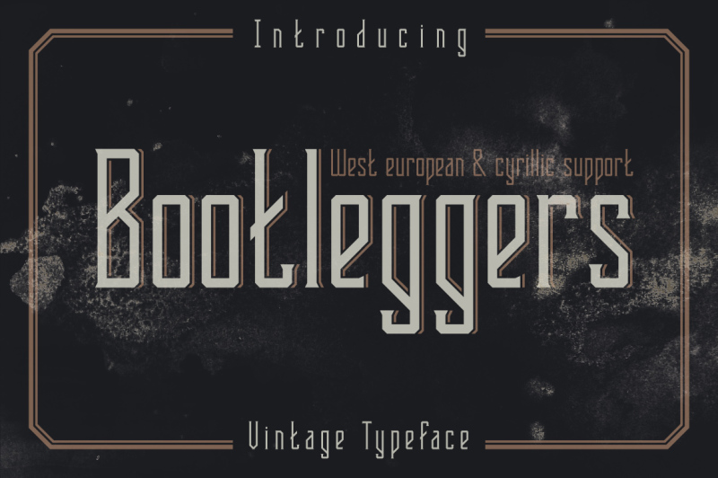 bootleggers-font