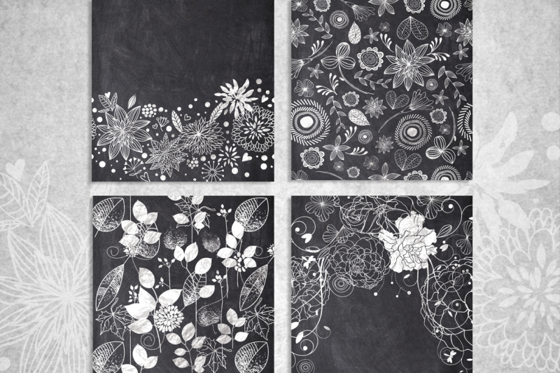 10-chalk-floral-pattern-elements