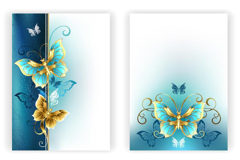 design-for-brochure-with-luxury-butterflies
