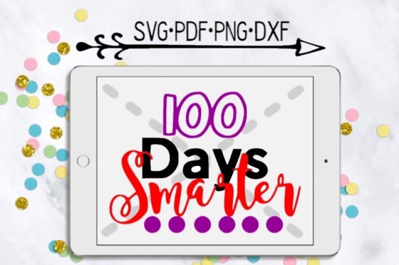 100-days-smarter-girl-cutting-design