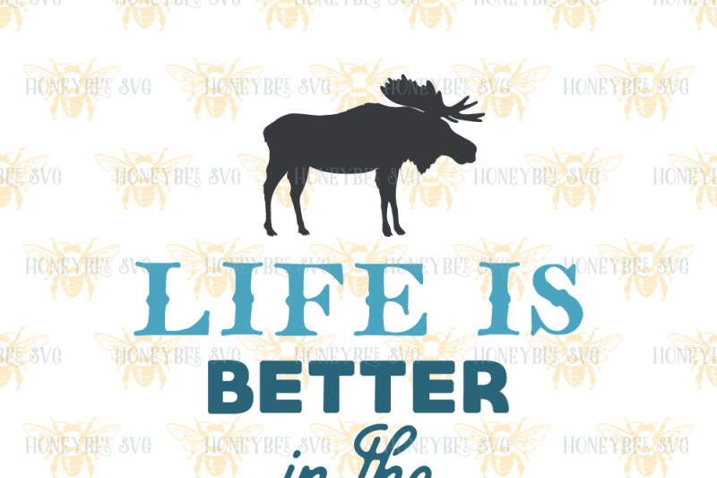 25+ Life Is Better In The Woods PNG