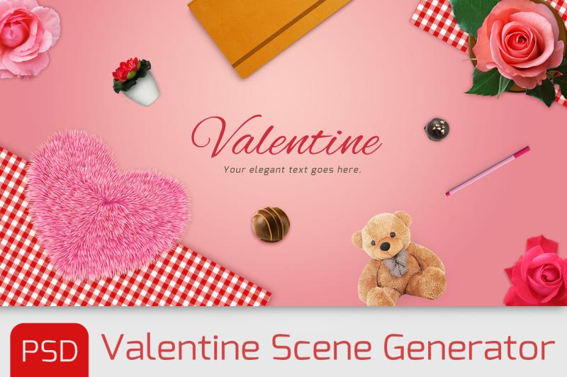 love-nbsp-items-scene-generator-with-psd