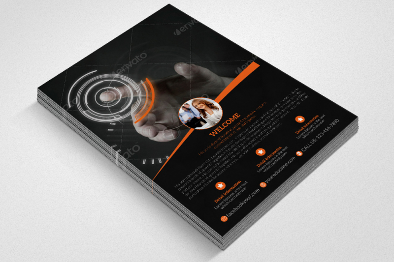 business-corporate-agency-flyer