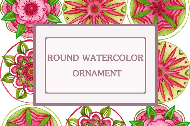 watercolor-round-ornament
