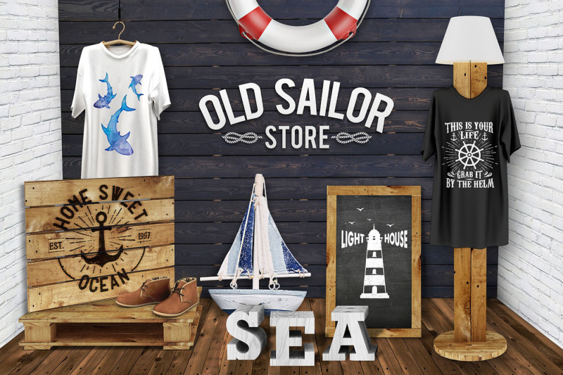 old-sailor-vintage-badges-vol-2