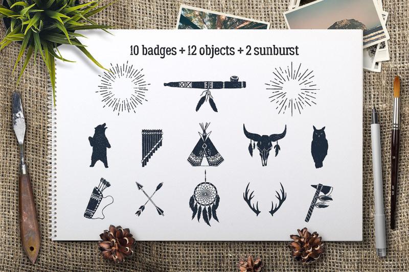 wild-at-heart-native-american-vintage-badges-vol-1