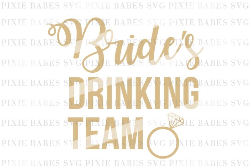 bride-s-drinking-team