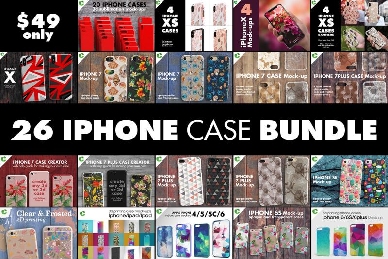 Free Iphone Case Bundle (PSD Mockups)
