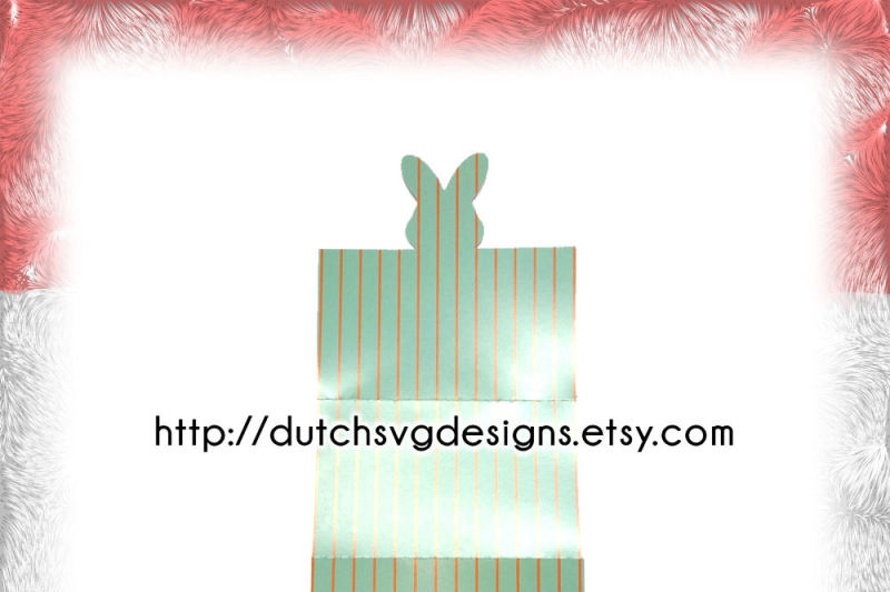 Name Table Card Cutting File With Easter Bunny In Jpg Png Svg