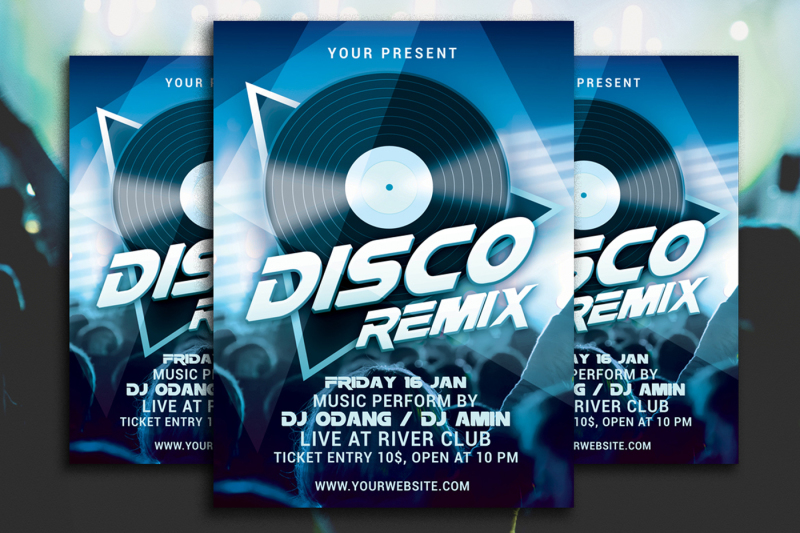 disco-remix-party-flyer