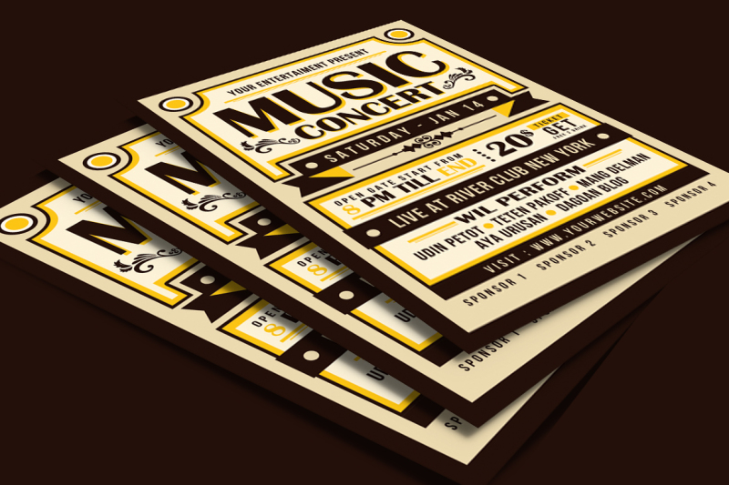 vintage-music-concert-typography