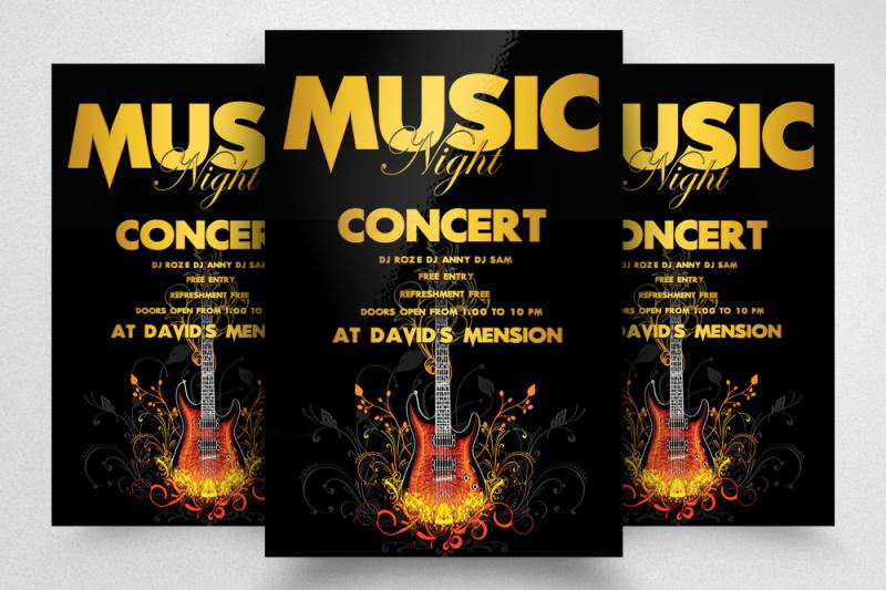 music-night-concert-flyer