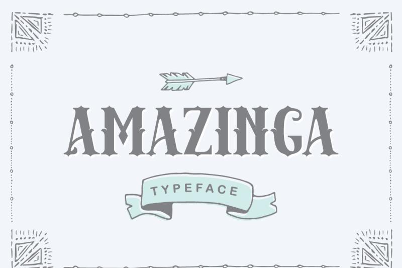 amazinga-typeface
