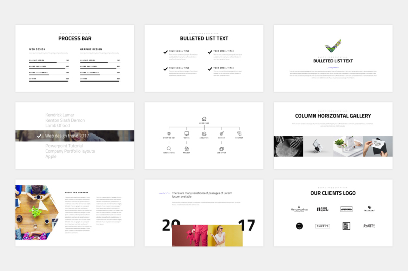burte-keynote-template
