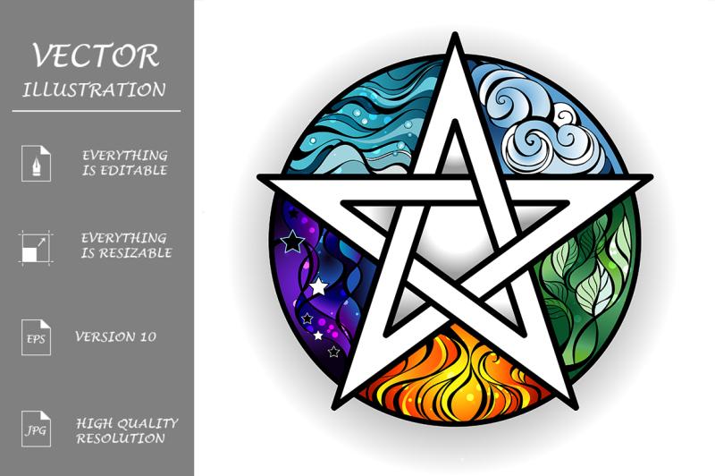 bright-pentagram
