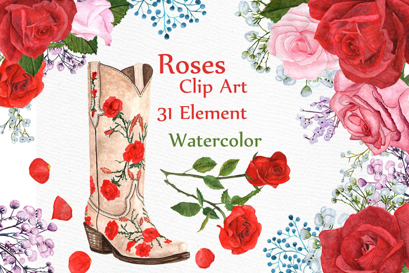 watercolor-roses-clipart