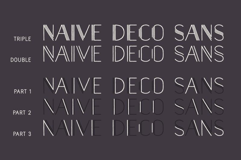 naive-deco-sans-font-pack