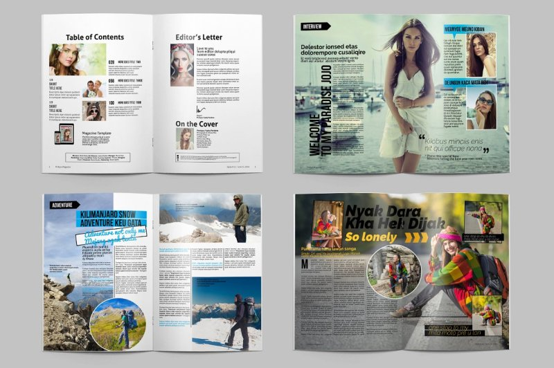 prettyca-magazines