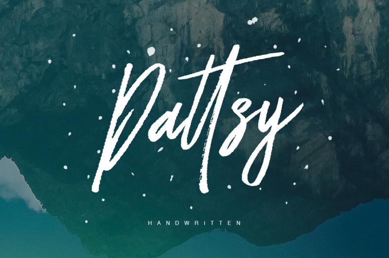 dattsy-signature-brush-font
