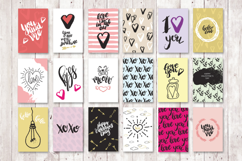 set-of-18-valentine-greeting-cards