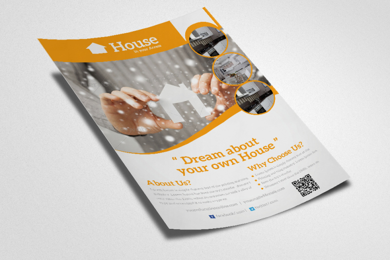 real-estate-agency-psd-flyer-template