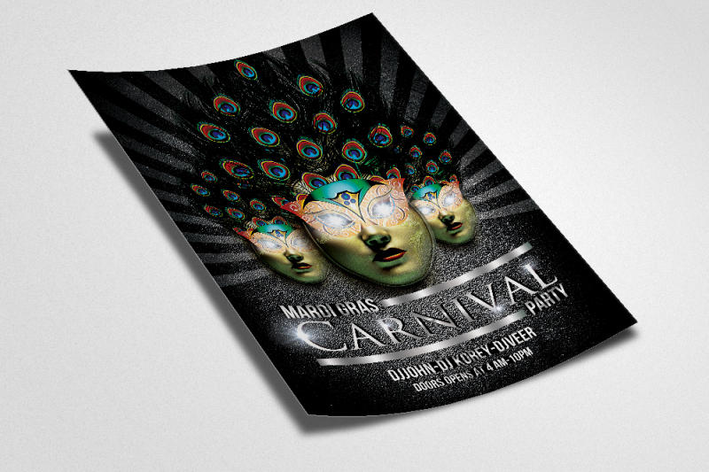 mardigras-party-night-flyer