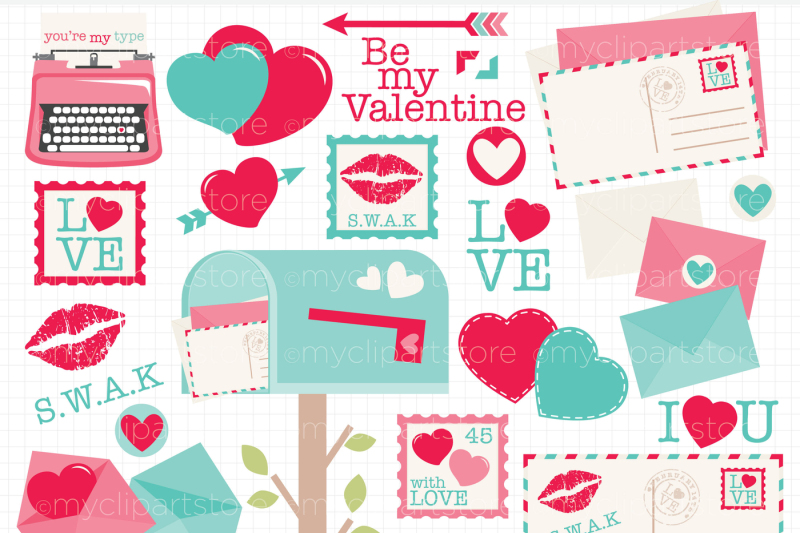 love-letters-vector-clipart