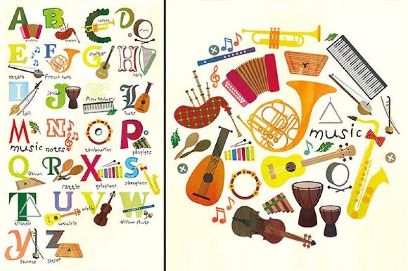 music-alphabet-and-music-pattern