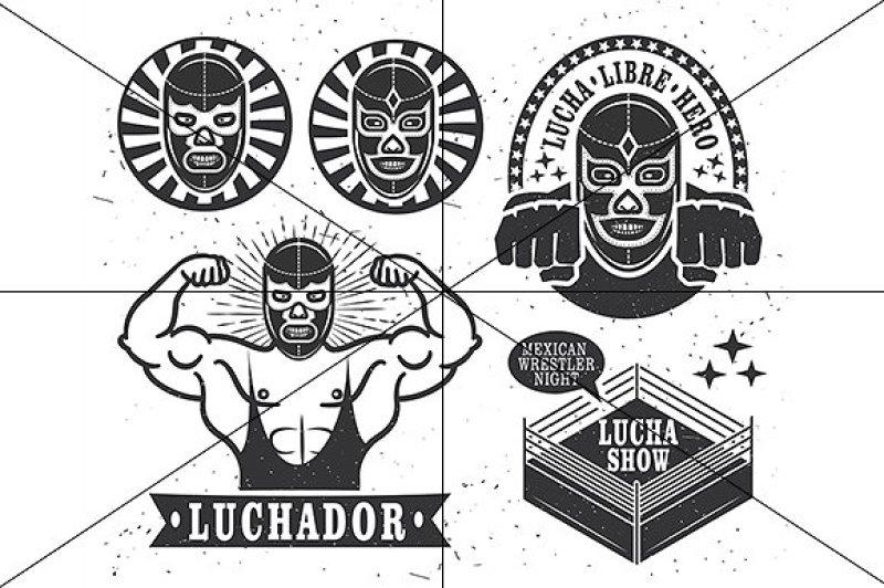 set-of-vintage-lucha-libre-tickets