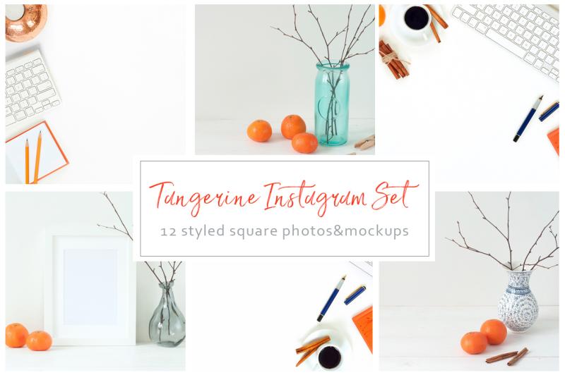 tangerine-instagram-set
