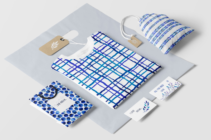 indigo-blue-watercolour-patterns