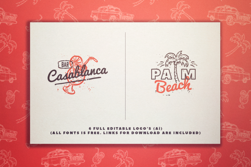 california-dreamin-graphic-pack