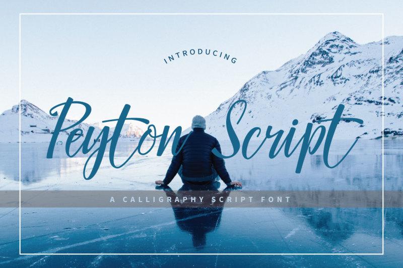 peyton-script-typeface