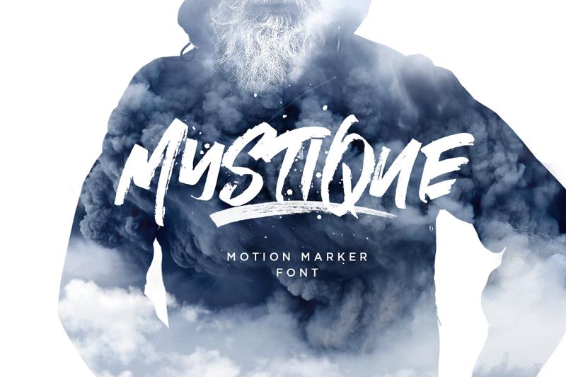 mystique-marker-font