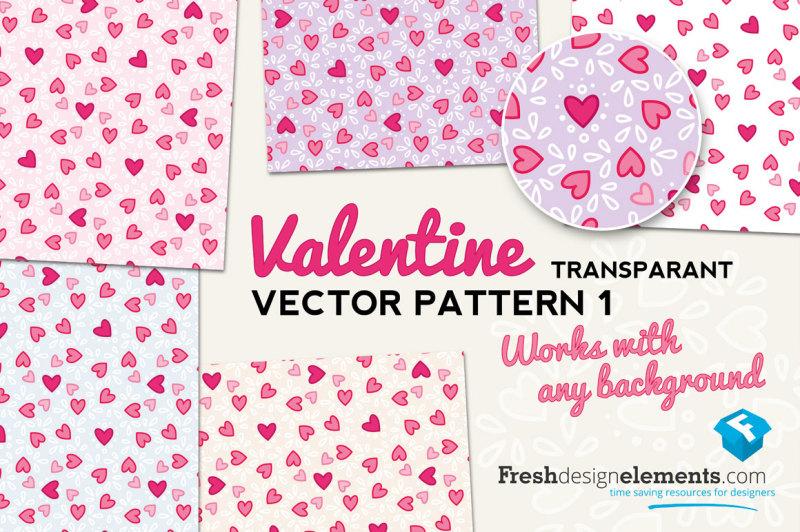 valentine-transparant-vector-pattern