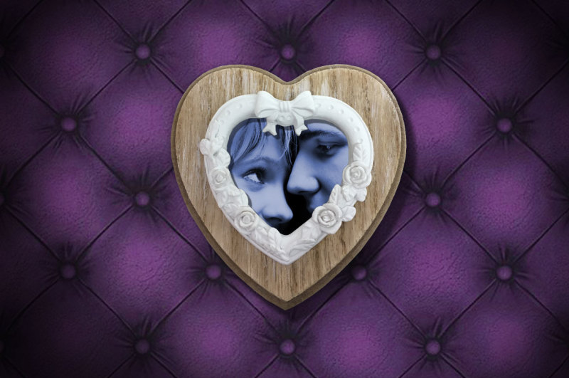 valentine-love-heart-frame-mockup