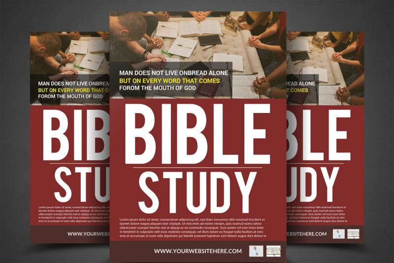 bible-study-flyer-template