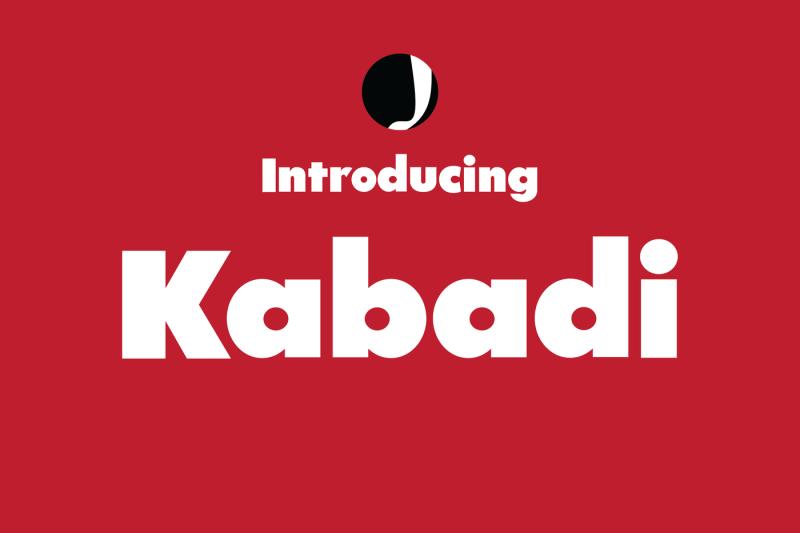 kabadi-amazing-font