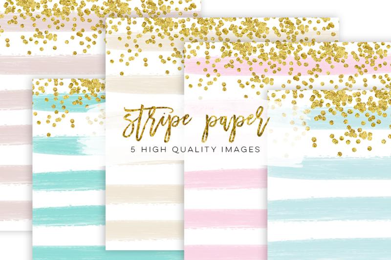 stripe-confetti-gold-paper-texture