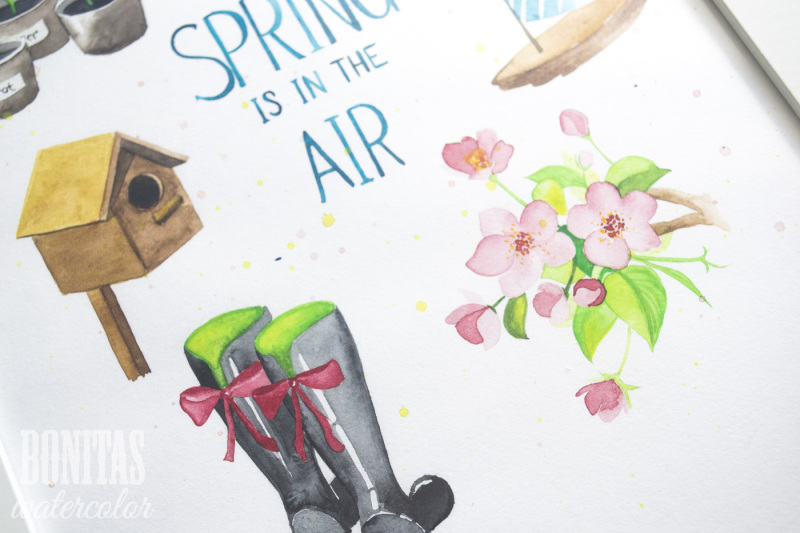 lovely-spring-watercolor-objects