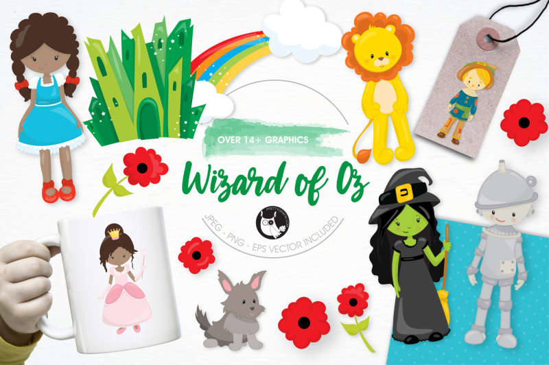 wizard-of-oz-graphics-and-illustrations