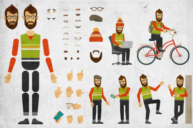 hipster-creation-set