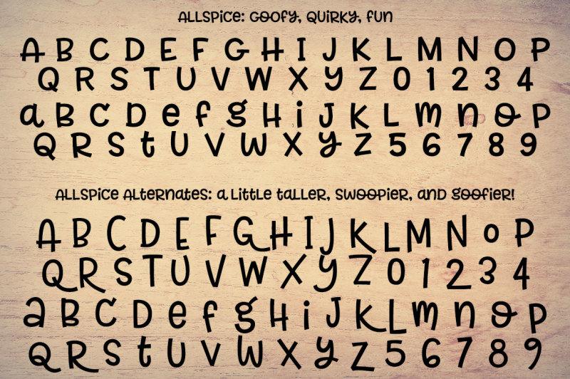 allspice-a-fun-mixed-case-font